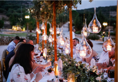 villa Piedra is ideal for your wedding party