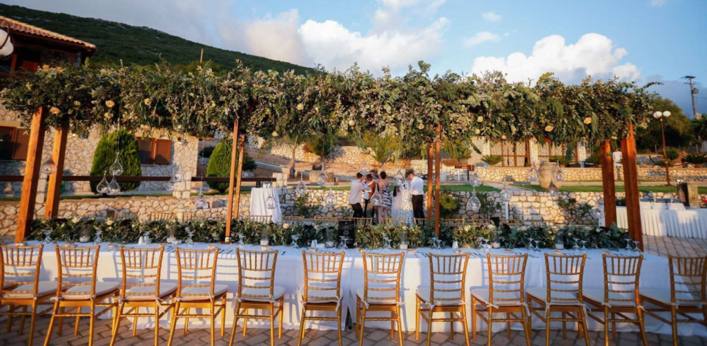 Wedding Party in Villa Piedra